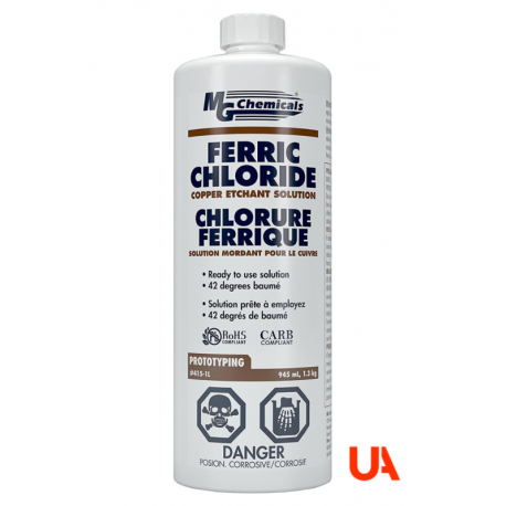 Mg Chemicals 415 1L Ferric Chloride Liquid 6  Units