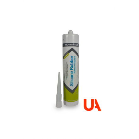 Momentive RTV106 Red FDA Silicone Adhesive Cart. 310 ml  12 Unidades
