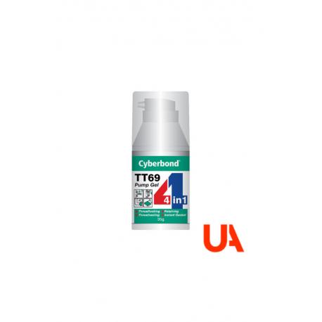 Cyberbond TT 69 Anaerobic Gel in dosing bottle 10 units.