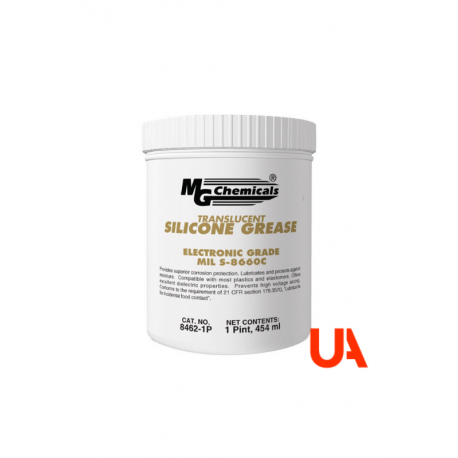 MG Chemicals 8462-1P Translucent Silicone Grease 454 ml 1 Unit