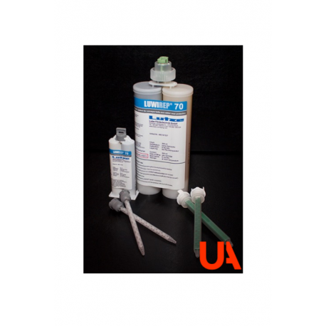 LUWIREP 70 Repair system for conveyor belts and rubber wear protection. Cart. 50 ml 30 Units