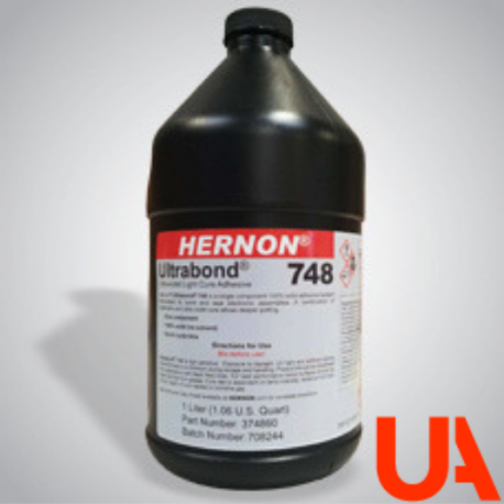 Hernon Ultrabond 748 UV cured adhesive Bottle 50 ml 10 Units