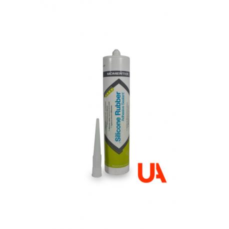 Momentive RTV102 Adhesivo de Silicona Blanca  Cart. 310ml 12 Unidades