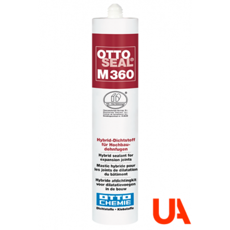 OTTOSEAL M360 The hybrid sealant for expansion joints