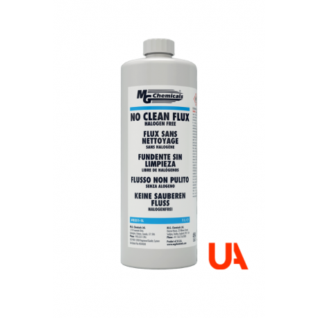 MG Chemicals 8351 Fundente Sin Limpieza, 1 L